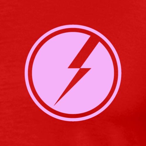 FBS Circle Logo - Pink - Men's Premium T-Shirt