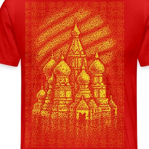Russian Bricks - Men's Premium T-Shirt