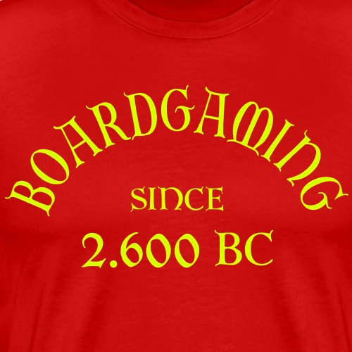 Boardgaming since 2600 BC - Männer Premium T-Shirt
