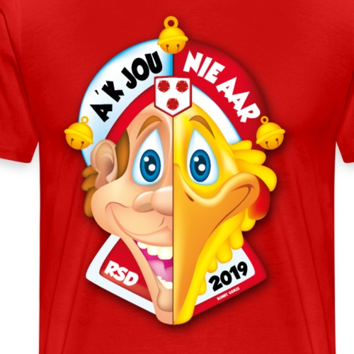 A'K jOU NIE AAR | Tullepetaonestad | 2019 - Mannen Premium T-shirt