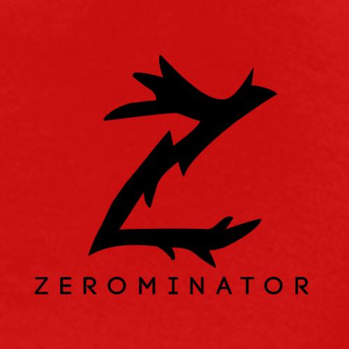 Z logo med zer0minator under - Premium T-skjorte for menn