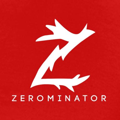 Z med zer0minator under - Premium T-skjorte for menn