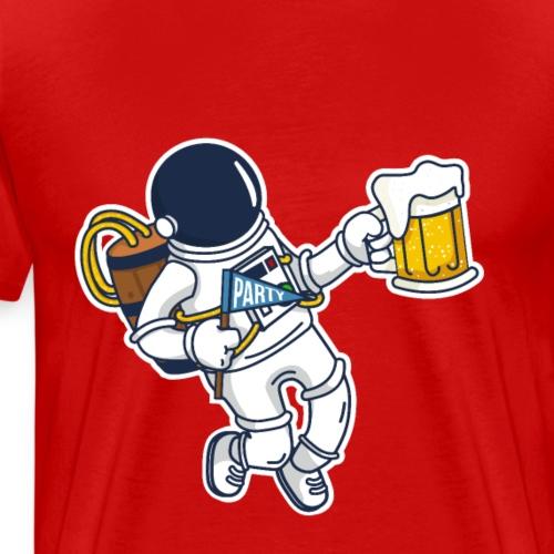 Party Spaceman - Maglietta Premium da uomo