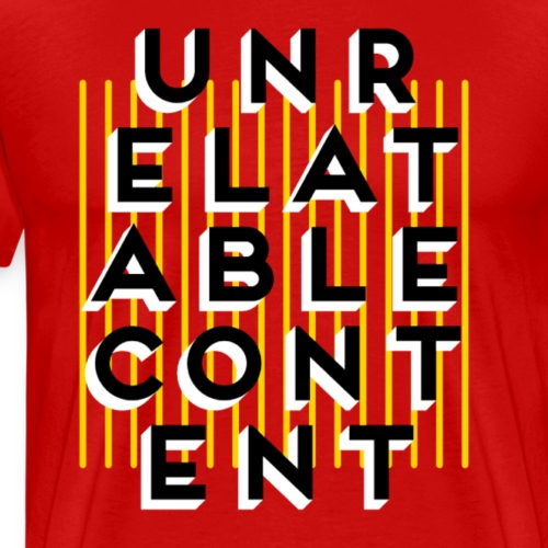 That Unmarketable Life - Men's Premium T-Shirt