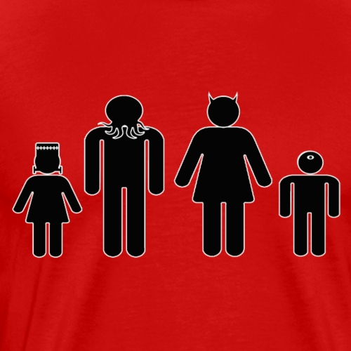 Freaky Family - Men's Premium T-Shirt