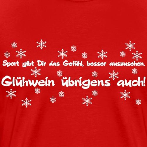 Glühweinsport - Männer Premium T-Shirt