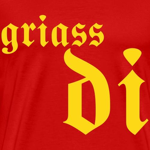 Griass di - Männer Premium T-Shirt
