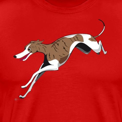Driva the Whippet - Premium-T-shirt herr