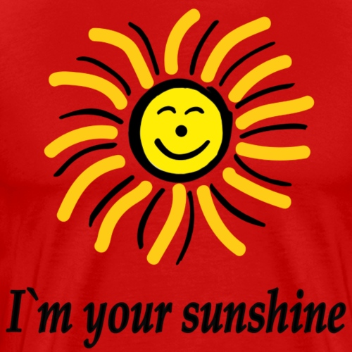2i m youre sunshine Gelb Top - Männer Premium T-Shirt
