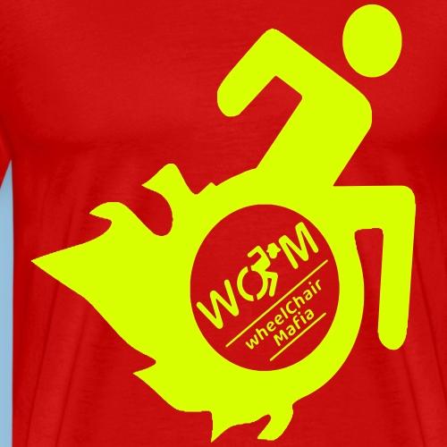WCMflames2 - Mannen Premium T-shirt