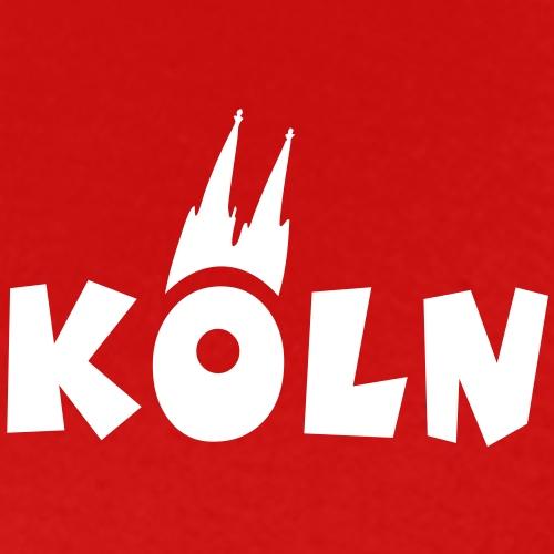 Köln mit Kölner Dom - Männer Premium T-Shirt