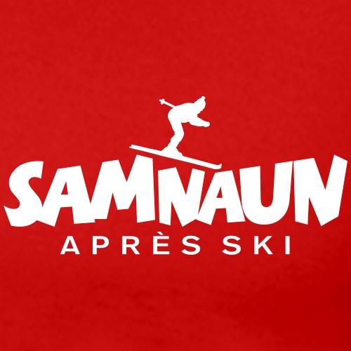 Samnaun Apres Ski Skifahrer Design - Männer Premium T-Shirt