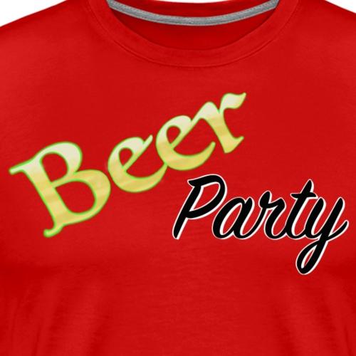 Beer Party - Premium-T-shirt herr