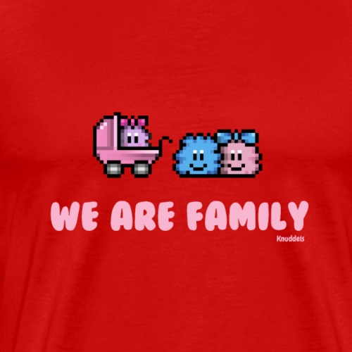 We Are Family - Girl - Männer Premium T-Shirt