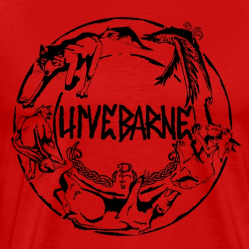 ulvebarne - Mannen Premium T-shirt