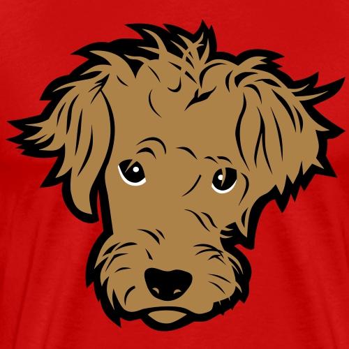 Süßer kleiner Hund T Shirt - Männer Premium T-Shirt
