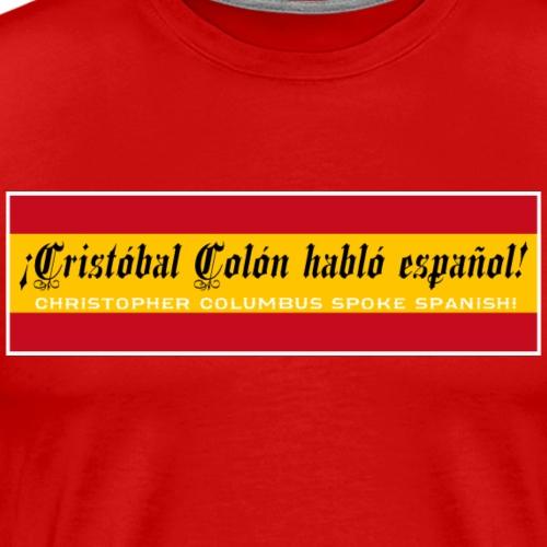 Christopher Columbus Spoke Spanish!