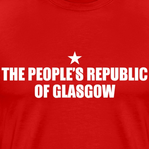 People's Republic Glasgow - Men's Premium T-Shirt
