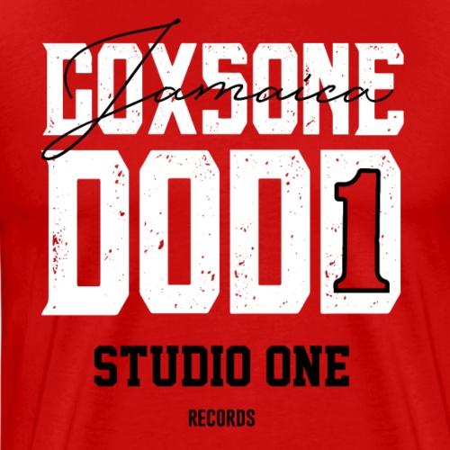 Coxsone Dodd | Jamaica Studio One Records - Camiseta premium hombre
