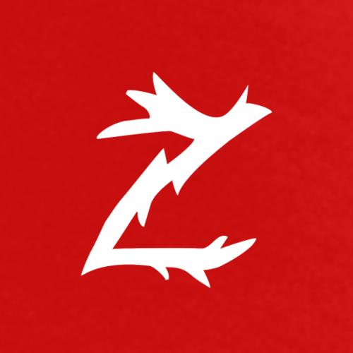 Z logo i hvitt - Premium T-skjorte for menn
