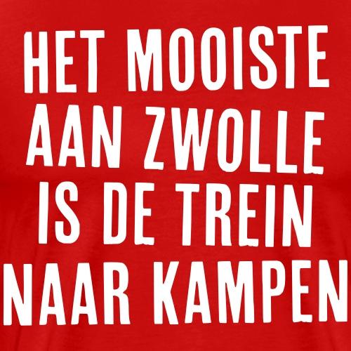 Het mooiste aan Zwolle - Mannen Premium T-shirt
