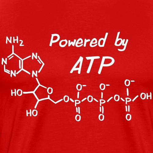 Powered by ATP - Männer Premium T-Shirt