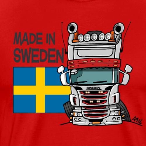 Made in Sweden - Mannen Premium T-shirt