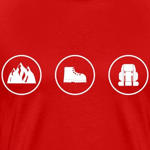 rockclimbing - Men's Premium T-Shirt