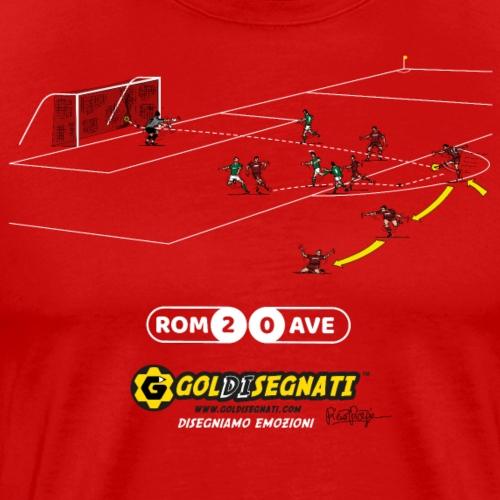 ROM-AVE 2-0 1983 - Il Gol del N10 - Maglietta Premium da uomo