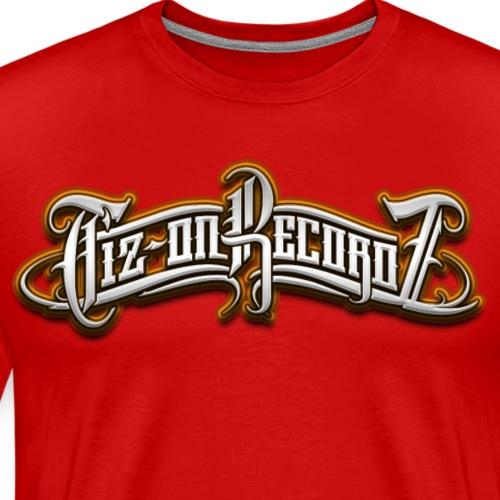 logo tiz-on recordz colors - T-shirt Premium Homme