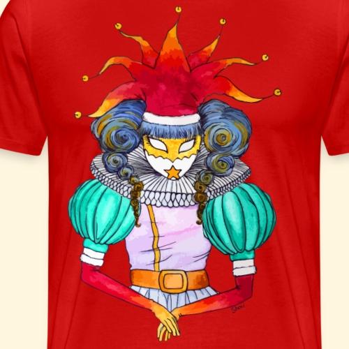 Noël à Venise : le Joker ou le Fou du Roi - T-shirt Premium Homme