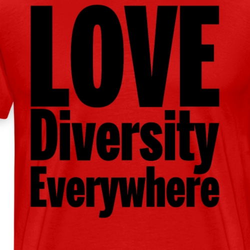 Love Diversity Everywhere - Men's Premium T-Shirt