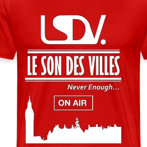 Lesondesvilles _On air LSDV - T-shirt Premium Homme