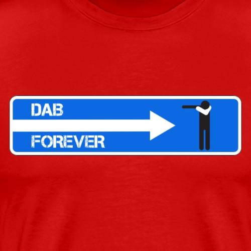 DAB FOREVER WHITE - Maglietta Premium da uomo