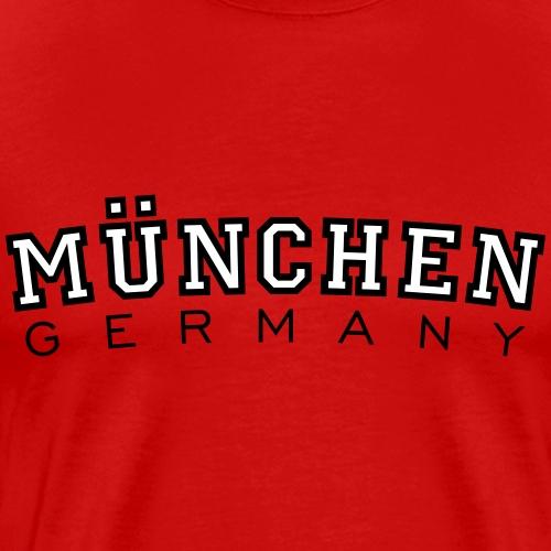 München Germany (Schwarz/Weiß) Deutschland - Männer Premium T-Shirt