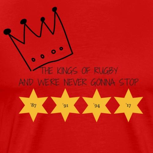 kings of rugby premium - Men's Premium T-Shirt