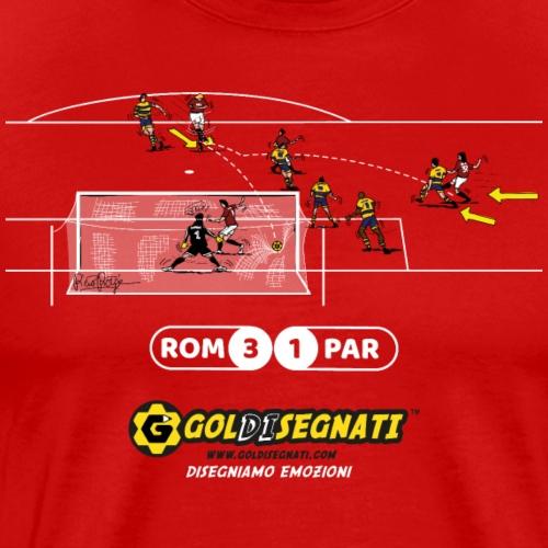 ROM-PAR 3-1 Il Gol del Capitano - Maglietta Premium da uomo