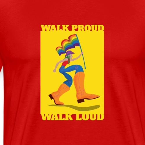 modern lgbtq gay pride shirt - Männer Premium T-Shirt