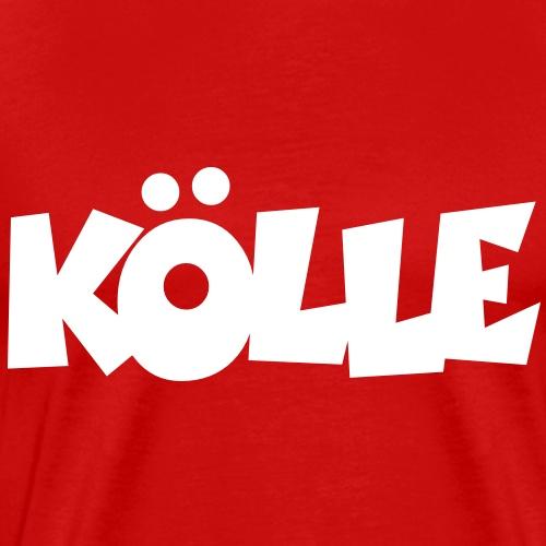 Köln Kölle für Kölnerinnen und Kölner - Männer Premium T-Shirt
