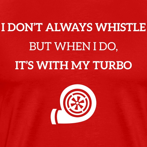 JDM Turbo Whistle | T-shirts JDM - T-shirt Premium Homme
