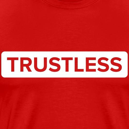 Trustless | White - Men's Premium T-Shirt