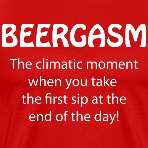 Beergasm - All about Beer - Männer Premium T-Shirt