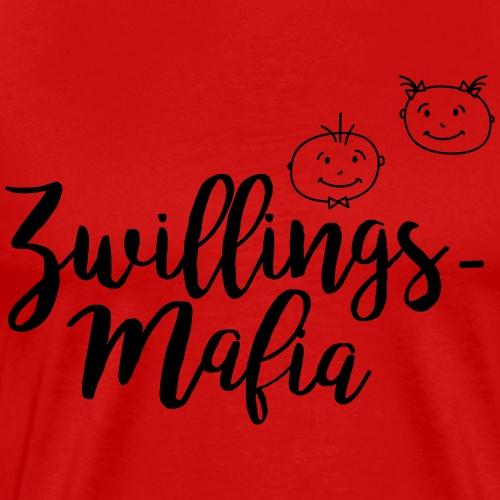 Zwillingsmafia Pärchen - Männer Premium T-Shirt