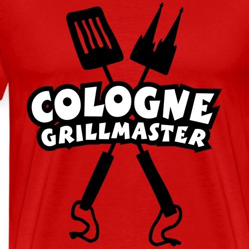 Cologne Grillmaster Grillmeister aus Köln - Männer Premium T-Shirt