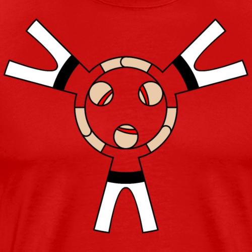 Casteller 3 Poañuelo - Mannen Premium T-shirt