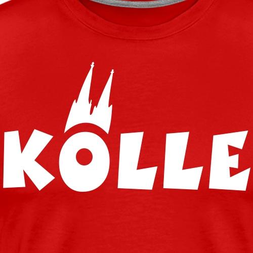 Köln Kölle mit Kölner Dom - Männer Premium T-Shirt
