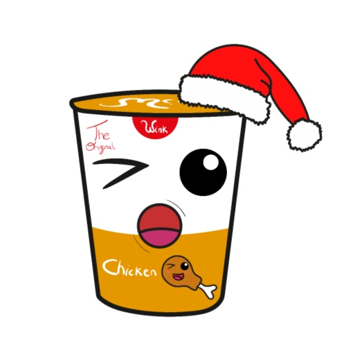 Wink Christmas Noodles Chicken