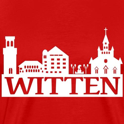 Skyline Witten - Wittener Skyline - Männer Premium T-Shirt