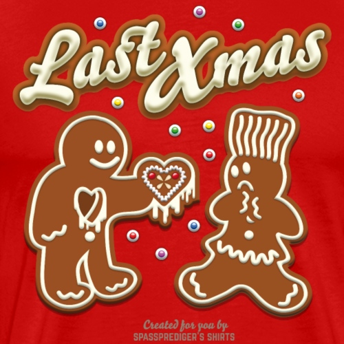 Weihnachten T-Shirt Last Xmas - Männer Premium T-Shirt
