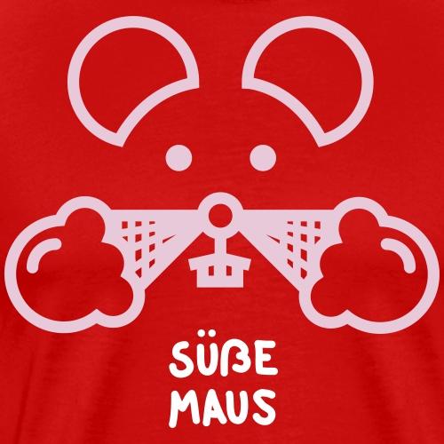 Süße Maus - Männer Premium T-Shirt